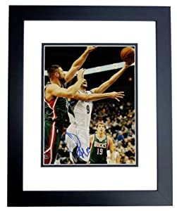 Ricky Rubio Autographed Hand Signed Minnesota Timberwolves 11x14 Photo - BLACK CUSTOM... by Real Deal Memorabilia