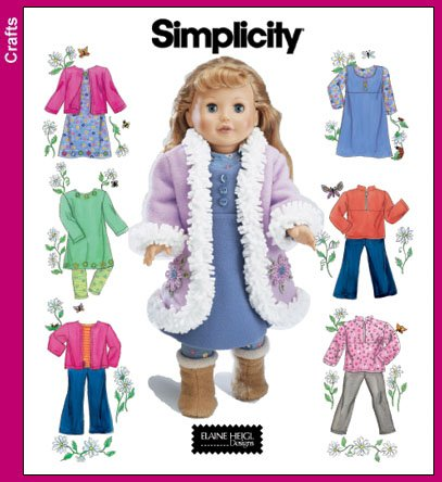 DOLLS DRESSMAKING sewing doll clothes with patterns sew | eBay