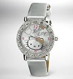 Hello Kitty Round Face Analogue Watch