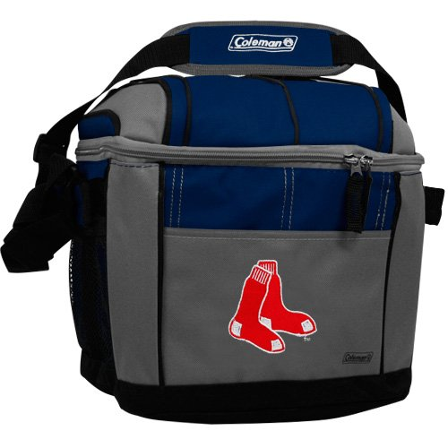Mlb Boston Red Sox 24 Can Soft Sided Cooler front-247948