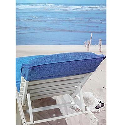 Frottee Schonbezug für Gartenliege Bezug Strandliege Liegenbezug Auflage Liege von JEMIDI - Gartenmöbel von Du und Dein Garten