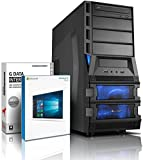 Ultra 6-Kern DirectX 12 Gaming-PC Computer FX 6300 6x4.1 GHz Turbo - Radeon R9 380 2GB DDR5 - 8GB DDR3 1600 - 1TB HDD - Windows10 - DVD RW - Gamer-PC #4929