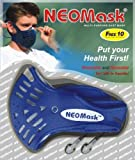 NeoMask - Neoprene Mask with 2 Carbon Filters and 10 External filters