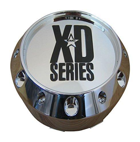 KMC XD 779 Badlands 786 Balzac 795 Hoss Chrome Wheel Chevy 6 Lug Center Cap (Xd Chrome Center Caps compare prices)