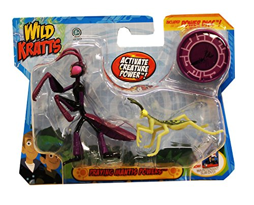Wild Kratts Toys Animal Power Set - Praying Mantis! Action Figures ...
