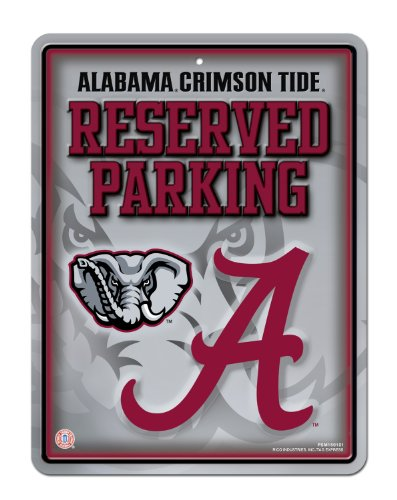 NCAA Alabama Crimson Tide Parking Sign at Amazon.com