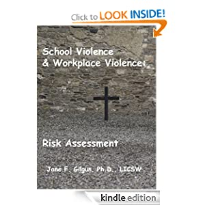 Logo for School Violence & Workplace Violence: Risk Assessment