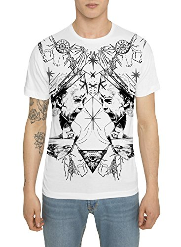 tee-shirt-mode-homme-fashion-rock-style-blanc-avec-imprime-swag-red-scream-t-shirt-a-motif-graffiti-