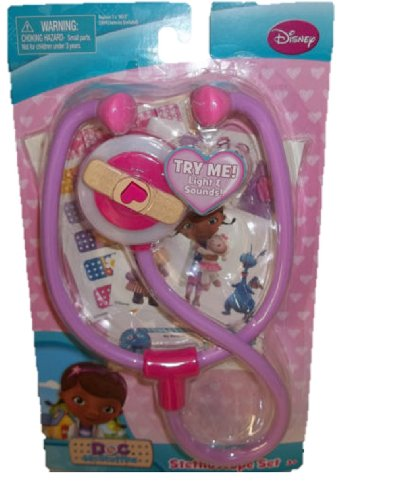 Disney Jr Doc Mcstuffins Just Play Docs Stethoscope SET with Light & Sounds at Sears.com
