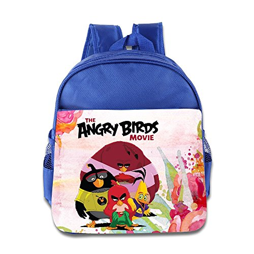Jade Custom Funny Cute TV Cartoon Role Poster Boys And Girls School Backpack For 1-6 Years Old RoyalBlue