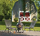 Living Accents Chimnea Cast Iron Cast Iron Firept 47H x 22W