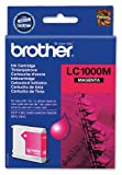 Brother LC1000M Magenta ink cartridge (approx 400 A4 pages @ 5% coverage)