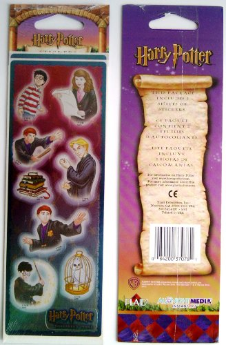 Harry Potter Sorcerer's Stone Stickers - First Year