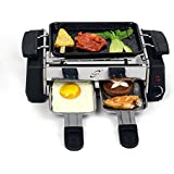 Huan Yi Compact Electric Barbecue Grill And Tandoor - Now With Frying And Roasting Function With 1 Toothbrush...