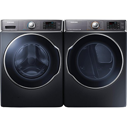 Samsung WF56H9100AG + DV56H9100EG 5.6 cu ft Washer and Electric Dryer