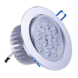 Revesun 6PCS 12W LED Spotlights Recessed Light Cool White