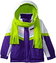 Rothschild Little Girls39  Retro Piped Active Colorblock Jacket