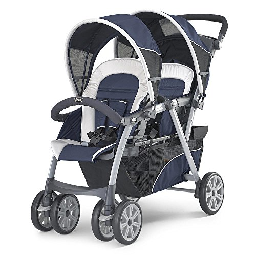 Chicco Together Double Stroller In Equinox front-859407