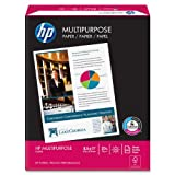 HP Multipurpose Copy/Laser/Inkjet Paper, 96 Brightness, 20 lb, Letter Size (8.5 x 11), 500 Sheets (11200-0)