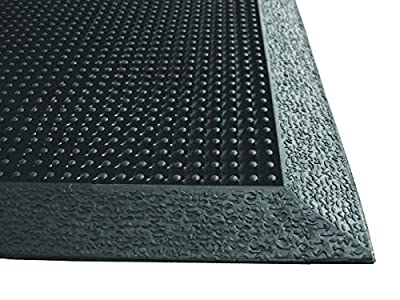 Brush Tip Scraper Floor Mat, Rubber
