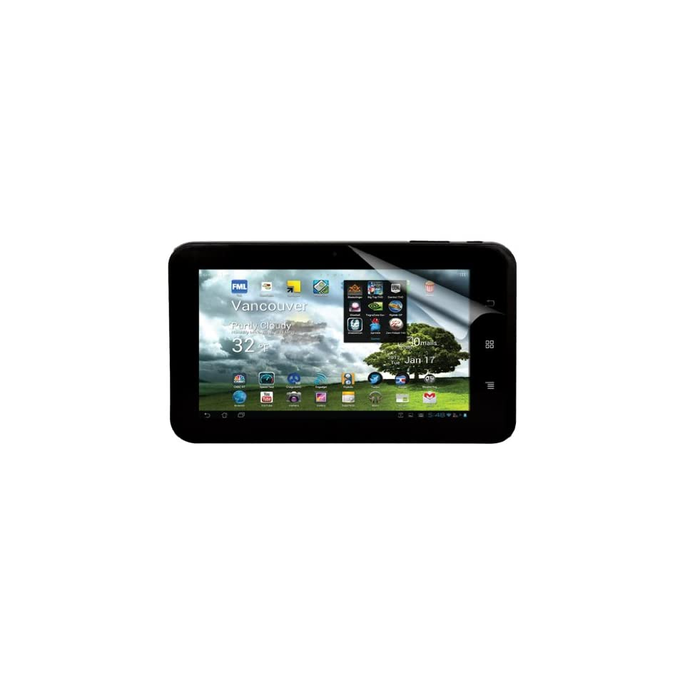 Green Onions Supply AG+ Anti Glare Screen Protector for 7 Inch Trio Stealth Pro (RT SPTSP702HD)