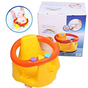 Baby Infant Bath Tub Ring Seat Chair dinning chair 2 In 1 Bath & Dining Seat.
