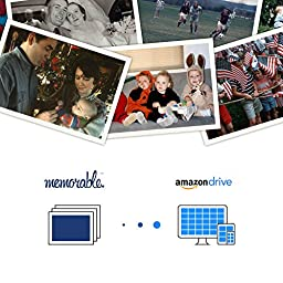 Memorable Professional Photo Scanning for Amazon Drive (2500 Photos, Preservation)
