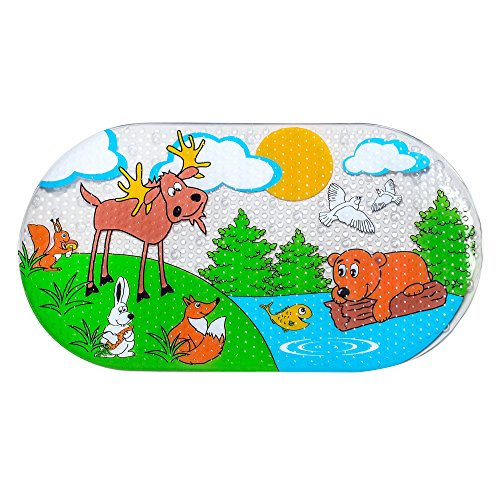 Baby Non Slip Bathtub Melanov Mat | Bath Mat For Toddlers and Infants| Shower Stall & Bath Floor| Anti-Bacterial And Mildew Resistant |No Skid Highly Protective Bath Tub Rug | Ideal For Parents & Kids (Up Spring Baby Tub compare prices)