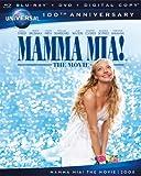 Image de Mamma Mia! The Movie [Blu-ray + DVD + Digital Copy] (Universal's 100th Anniversary)