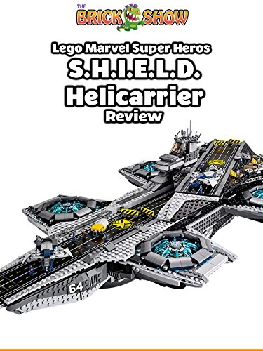 LEGO Avengers S.H.I.E.L.D. Helicarrier Review (76042) on Amazon Prime Video UK