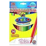 Acquista Carioca 41875 - Esagonale Confezione 36 Matite Colorate, Facili da Temperare
