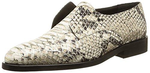 MySuelly Serge, scarpe da città da donna, Beige (Beige (Python)), 40