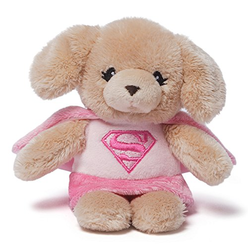 Baby Gund DC Comics Rattle Supergirl Yvette