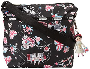 LeSportsac Small Cleo Charm Cross Body,Fancy That,One Size
