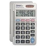 Truly CT290 Calculatrice de Poche 8 chiffres Gris