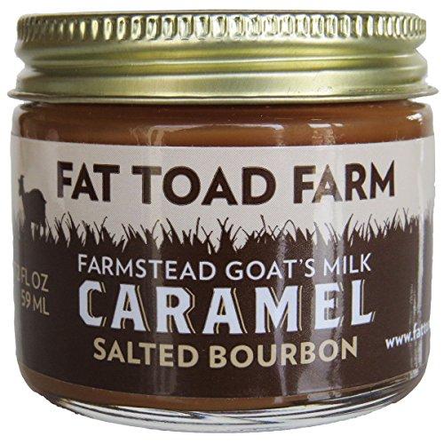 Fat Toad Farm Goat's Milk Salted Bourbon Caramel,