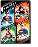 Four Film Favorites (Superman The Movie / Superman II / Superman III / Superman IV: The Quest for Peace)