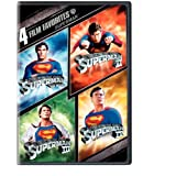 4 Film Favorites: Superman (Superman II: Special Edition, Superman III: Deluxe Edition, Superman IV: Deluxe Edition, Superman, The Movie: Special Edition) ~ Christopher Reeve