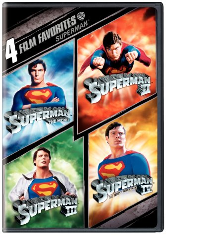 Cover art for  Four Film Favorites (Superman The Movie / Superman II / Superman III / Superman IV: The Quest for Peace)
