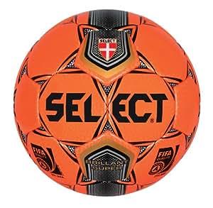 Select Brillant Super Fifa Soccer Ball (Orange, Size 5)