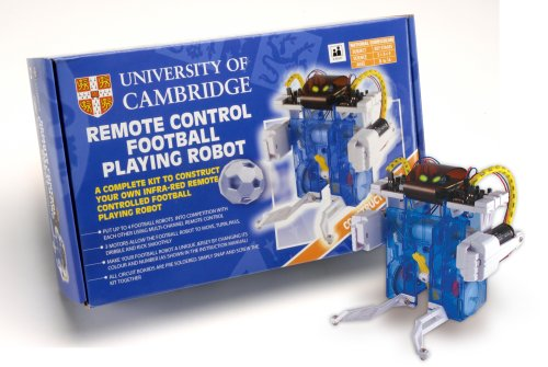 University of cambridge remote control football playing robot