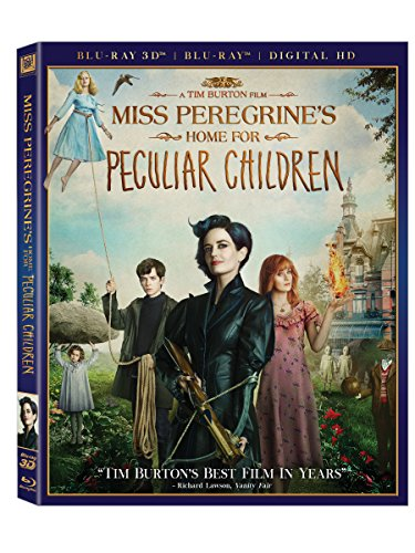 Blu-ray 3D : Miss Peregrine\'s Home for Peculiar Children (With Blu-Ray, Digitally Mastered in HD, 2 Pack, 2 Disc)