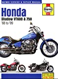 Haynes Manual for Honda Shadow VT600 & 750 (88 - 09) Including an AA Microfibre Magic Mitt