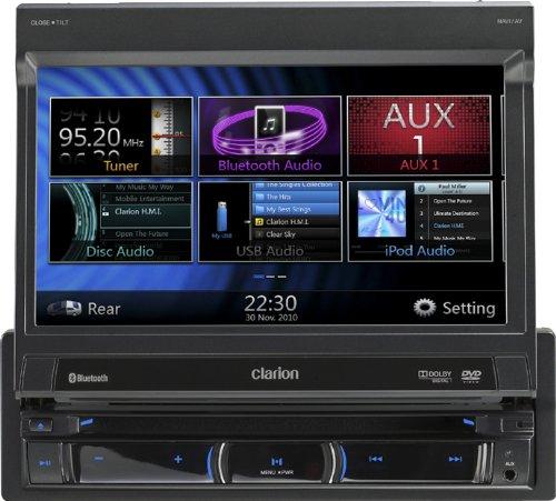 Clarion-NZ501E-Navigationssystem-7-Zoll-Displaystarrer-Monitor-169Kontinent