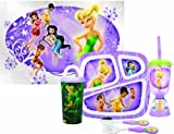 Zak Designs Disney Fairies 6-Piece Mealtime Set