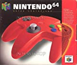 echange, troc Nintendo 64 manette rouge