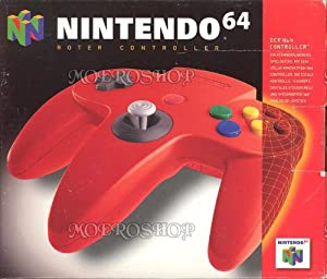Nintendo 64 Controller in Red