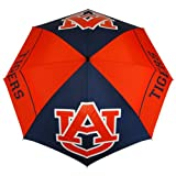 NCAA Auburn Tigers 62-Inch WindSheer Hybrid Umbrella
