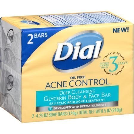 Dial Acne Control Deep Cleansing Glycerin Body and Face Bar Reviews