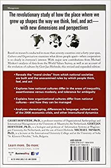 hofstede cultures and organizations software of the mind pdf